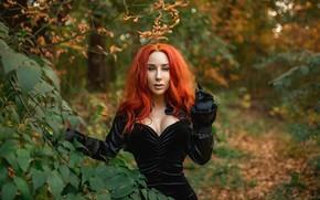 Picture model, redhead, A Diakov George