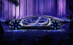 Picture the concept, Vision, electric, 2020, AVTR, Mercedes-Benz