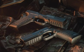 Picture gun, glasses, camouflage, self-loading pistol, pouch, Arsenal Firearms, Strike One, A, итальяно-российский проект