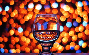 Picture tree, glass, color