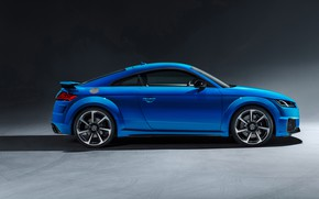 Picture Audi, side view, Coupe, TT RS, 2019