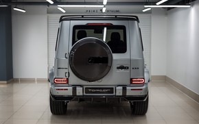 Picture Mercedes-Benz, rear view, AMG, G-Class, Gelandewagen, Ball Wed, G63, 2020, Light Package