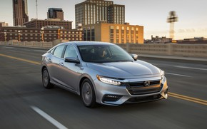 Picture Honda, sedan, Hybrid, Insight, hybrid, Touring, highway, four-door, 2019