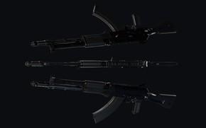 Picture Russia, AK-107, Balanced automatics