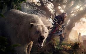 Picture game, axe, bear, axe, bear, games, Viking, viking, eivor, valhalla, assassin's creed valhalla, eivor