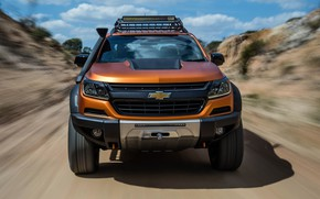 Picture Chevrolet, before, pickup, 4x4, Colorado, Z71, 2016, Xtreme Concept