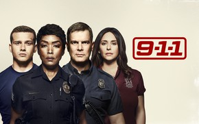 Picture look, background, 911, actors, the series, Movies, 9-1-1