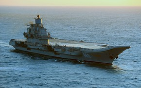 Picture hike, cruiser, heavy, aircraft carrier, Admiral Kuznetsov