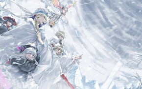Picture cold, the wind, characters, Fate / Grand Order, The destiny of a great campaign