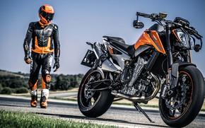 Picture rider, track, ktm, motocycle, ktm 790 duke