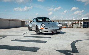 Picture sports car, classic, Porsche 911 Carrera VTS