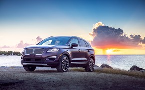 Picture auto, Lincoln, sunset, Lincoln MKC