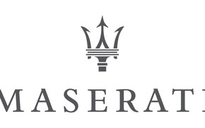 Picture white, grey, logo, logo, white, maserati, Maserati, gray