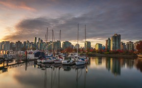 Picture the city, Stanley Park, Vancouver BC