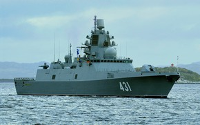 Picture frigate, Admiral Kasatonov, the project 22350