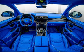 Picture Blue, Tuning, Salon, Lamborghini, Mansory, Urus, Lambordgini, Game