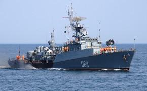 Picture anti-submarine ship, Albatross, Muromets, project 1124m