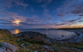 Picture the evening, Norway, Norway, Raet National park