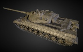 Picture Russia, The object 277, Experienced heavy tank