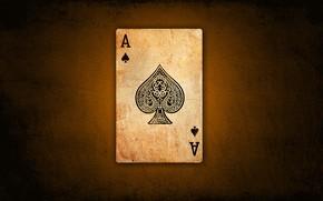Picture card, ACE, peak