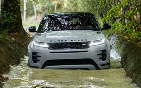 Picture Range Rover, the roads, Evoque, P300, HSE, 2019, Black Pack, R-Dynamic