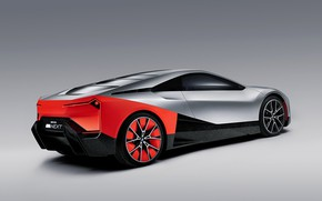 Picture background, coupe, BMW, back, side, 2019, Vision M NEXT Concept