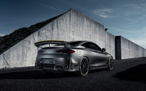 Picture Prototype, Infiniti, rear view, 2018, Project Black S