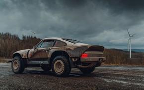 Picture 911, Porsche, dirt, Singer, acs, 2021, BF Goodrich, SCRS, All-terrain Competition Study