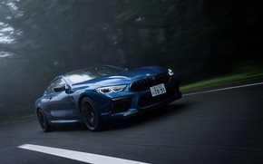 Picture road, coupe, BMW, Coupe, 2020, BMW M8, two-door, M8, M8 Competition Coupe, M8 Coupe, F92