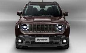 Picture front view, 2018, Jeep, Limited, Renegade