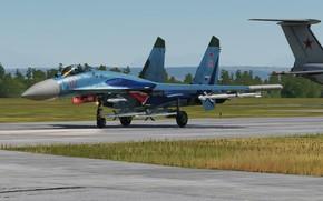 Picture Su-27, Multi-role fighter, Sukhoi