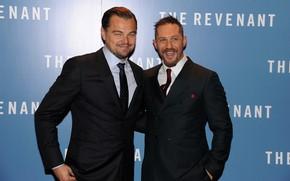 Picture Leonardo DiCaprio, Tom Hardy, Tom Hardy, Leonardo Dicaprio
