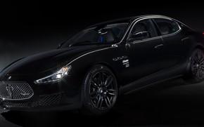 Picture black, supercar, Maserati, Special Edition, Maserati Ghibli, sports car, специальная серия, Maserati Ghibli Operanera, by …