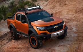 Picture light, Chevrolet, pickup, 4x4, Colorado, Z71, 2016, Xtreme Concept, LED chandelier