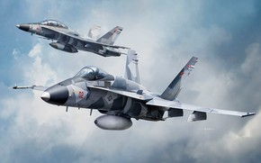 Picture Auletta, F/A-18A/D VFC-112 Aggressor, McDonnell Douglas, F/A-18 Hornet, fighter-bomber, Attack, US NAVY, Deck, USA
