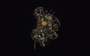 Picture Minimalism, Style, Background, Teenage mutant ninja turtles, Art, Style, TMNT, Donatello, Donatello, Teenage Mutant Ninja …
