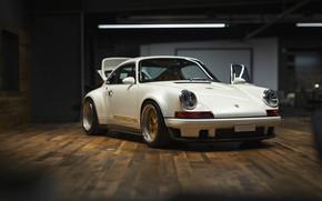 Picture White, Custom, Sportcar, Porsche 930