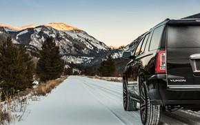 Picture road, 2018, GMC, SUV, Denali, Yukon