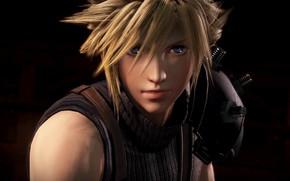 Wallpaper guy, blonde, 3D graphics, Dissidia Final Fantasy NT