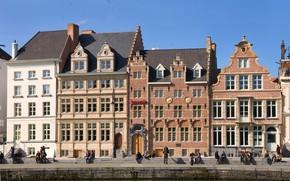 Picture home, Belgium, architecture, Ghent