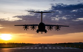 Picture airport, the plane, A400M Atlas