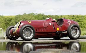 Picture Wheel, Spokes, Alfa Romeo, Classic, Scuderia Ferrari, Grand Prix, 1935, Classic car, Sports car, Alfa …