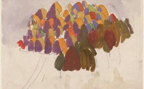 Picture 1915, Charles Ephraim Burchfield, October Trees