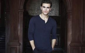 Picture look, male, Paul Wesley, Paul Wesley, Vampire Diaries