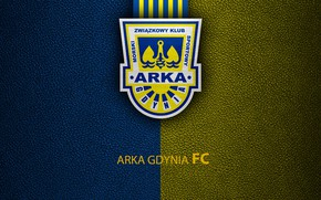 Picture wallpaper, sport, logo, football, ARKA Gdynia