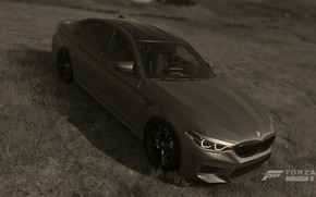 Picture HDR, BMW, Game, UHD, 4K, M5, Xbox One X, F90, Forza Horizon 4, FH4, photography …