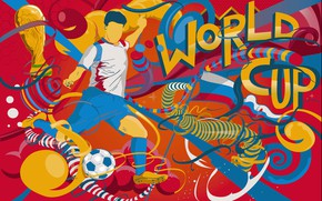 Wallpaper Football, Russia, Art, 2018, FIFA, FIFA, Cup, World Cup 2018, The world Cup 2018, Russia ...