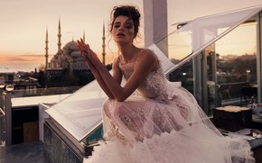 Picture model, dress, the bride, Istanbul