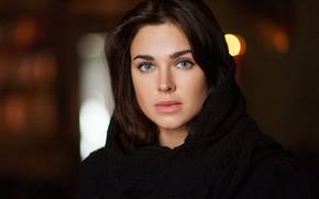 Picture look, girl, face, actress, Irina Antonenko