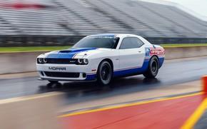 Picture Dodge Challenger, Speed, Mopar, Vehicle, Drag Pak